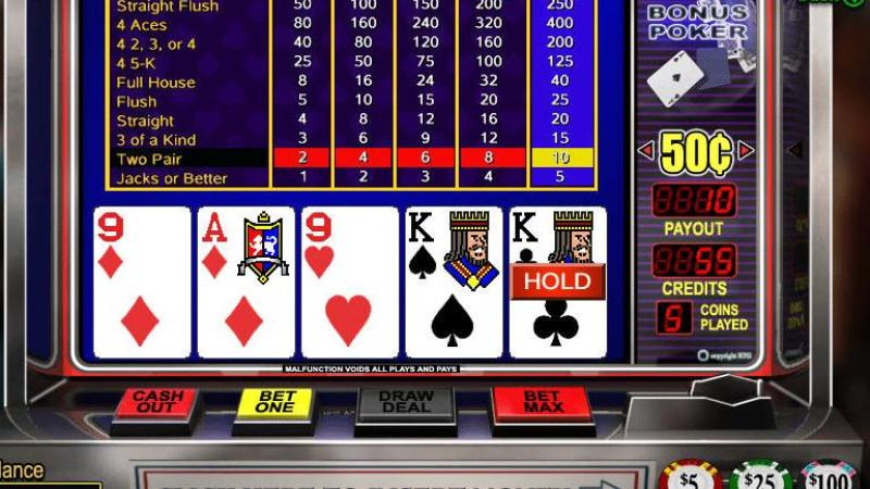Play Online Video Poker for Real Money