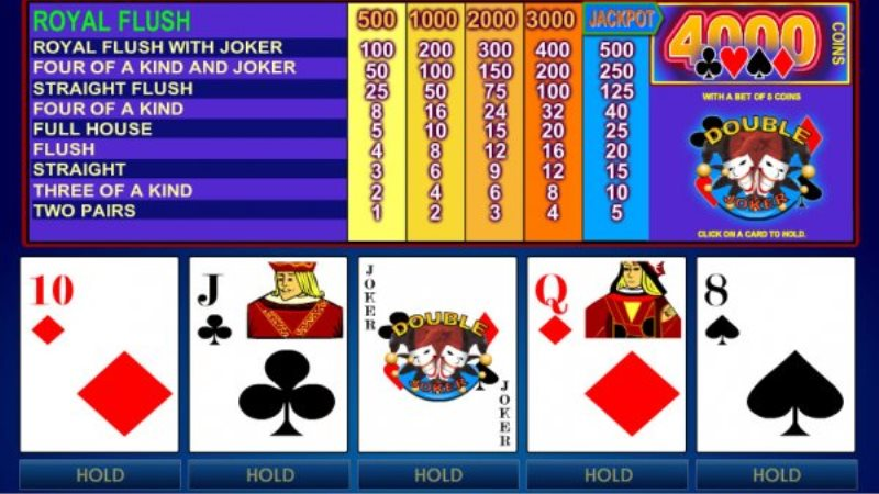 How to Play Double Joker Video Poker